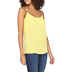 Dorothy Perkins - **Tall yellow camisole top