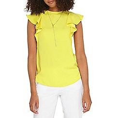 Dorothy Perkins - **tall yellow necklace t-shirt