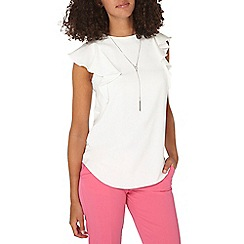 Dorothy Perkins - **tall ivory necklace t-shirt