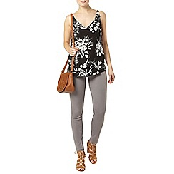 Dorothy Perkins - Black floral camisole