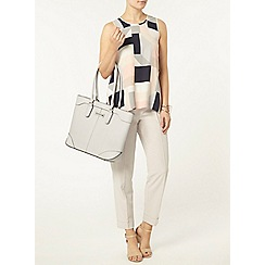 Dorothy Perkins - Blush square built up shell top