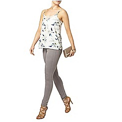 Dorothy Perkins - Ivory floral lace cami top