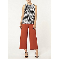 Dorothy Perkins - Chevron print sleeveless top