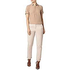 Dorothy Perkins - Stone zip collar shirt