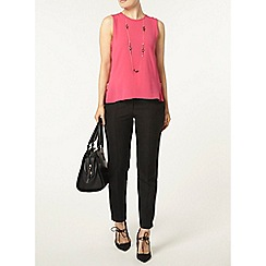 Dorothy Perkins - Pink popcorn side zip top