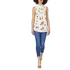 Dorothy Perkins - Floral longline shirt