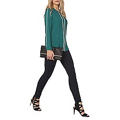 Dorothy Perkins - Tall green keyhole contrast