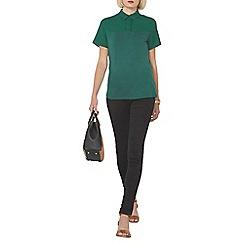 Dorothy Perkins - Green jersey top