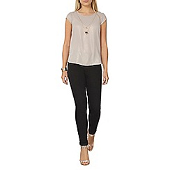 Dorothy Perkins - Shimmer chain necklace t-shirt