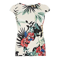 Dorothy Perkins - Tropical cotton shell top