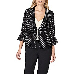 Dorothy Perkins - Spot tie front cover up