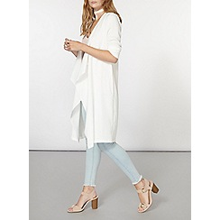 Dorothy Perkins - Ivory waterfall cover up
