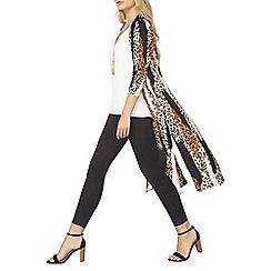 Dorothy Perkins - Animal print maxi cover up