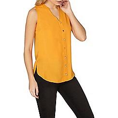 Dorothy Perkins - Orange sleeveless shirt