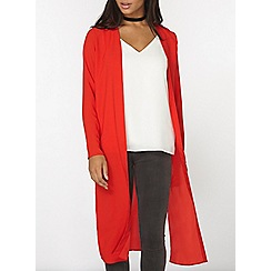 Dorothy Perkins - Red maxi cover up