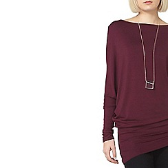 Dorothy Perkins - Mulberry jersey batwing top