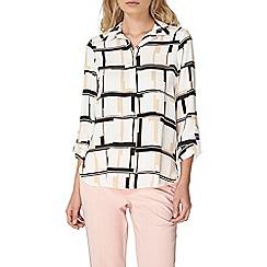 Dorothy Perkins - Neutral check shirt