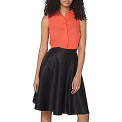 Dorothy Perkins - Coral collar sleeveless shirt