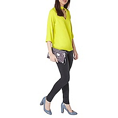 Dorothy Perkins - Lime choker top