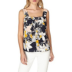 Dorothy Perkins - Floral foldover cami top
