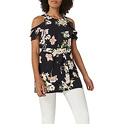 Dorothy Perkins - Floral tunic top