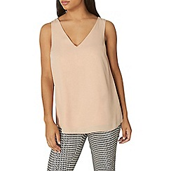 Dorothy Perkins - Nude cross back top