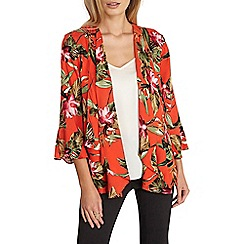 Dorothy Perkins - Orange tropical cover up