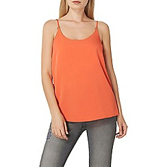 Dorothy Perkins - Coral metal trim camisole top
