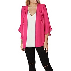 Dorothy Perkins - Pink ruffle cover up
