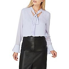 Dorothy Perkins - Lilac pussybow blouse