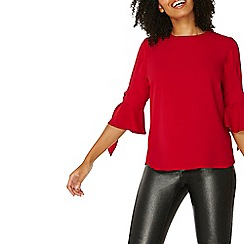 Dorothy Perkins - Red tie detail t-shirt