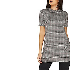 Dorothy Perkins - Prince of wales check tunic top