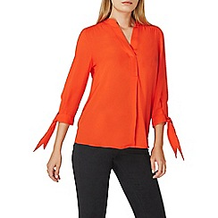 Dorothy Perkins - Red tie cuff shirt