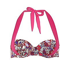 Dorothy Perkins - Paisley 2 way cupped bikini top