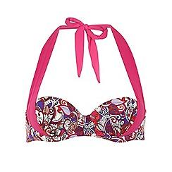 Dorothy Perkins - Paisley 2 way cupped bikini top