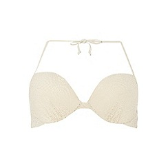 Dorothy Perkins - Crochet plunge bikini top