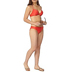 Dorothy Perkins - Red textuted bikini bottom