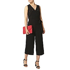 Dorothy Perkins - Black wrap jumpsuit