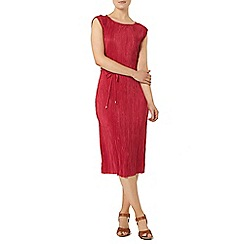 Dorothy Perkins - Pink pleated shift dress
