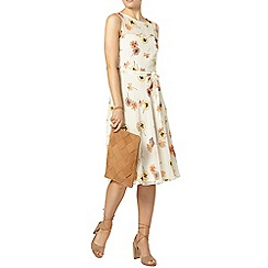 Dorothy Perkins - Ivory pansy dress