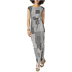 Dorothy Perkins - Pleated patchwork maxi dress