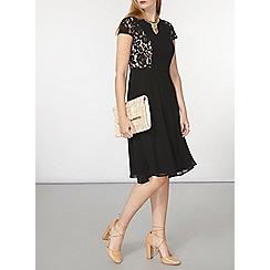 Dorothy Perkins - Lace chiffon midi dress