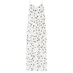 Dorothy Perkins - Ivory printed maxi dress