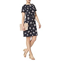 Dorothy Perkins - Blue peony frill fit and flare dress