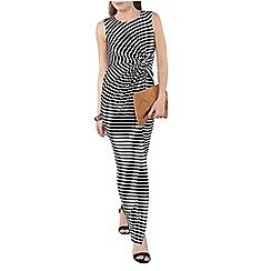 Dorothy Perkins - Stripe knot maxi dress