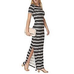 Dorothy Perkins - Multi stripe split maxi dress