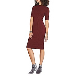Dorothy Perkins - Tall rib bodycon dress