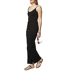 Dorothy Perkins - Black strappy maxi dress
