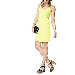 Dorothy Perkins - Yellow camisole slip dress