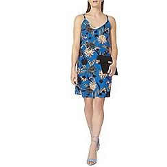Dorothy Perkins - Blue floral camisole slip dress